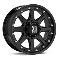 KMC XD Series XD798 Addict Black Painted Wheels
