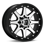 KMC XD Series XD798 Addict Machined w/Black Accent Wheels