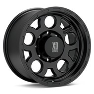 KMC XD Series XD122 Enduro Black Painted Wheels