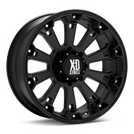 KMC XD Series XD800 Misfit Black Painted Wheels