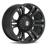 KMC XD Series XD778 Monster Black Painted Wheels