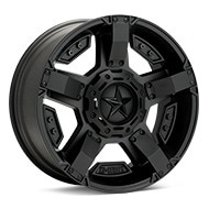 KMC XD Series XD811 Rockstar II Black Painted Wheels