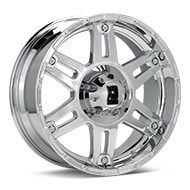 KMC XD Series XD797 Spy Chrome Plated Wheels