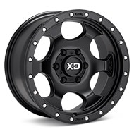 KMC XD Series XD131 RG1 Black Painted Wheels