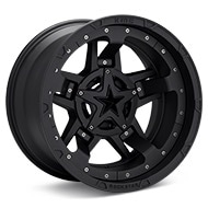 KMC XD Series XD827 Rockstar III Black Painted Wheels