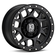 KMC XD Series XD127 Black Painted Wheels