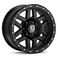 KMC XD Series XD128 Black Painted Wheels