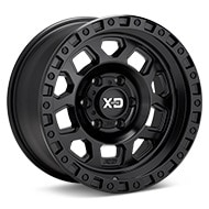 KMC XD Series XD132 Black Painted Wheels