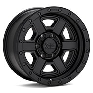 KMC XD Series XD133 Black Painted Wheels