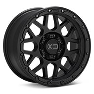 KMC XD Series XD135 Grenade OR Black Painted Wheels