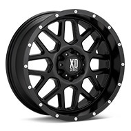 KMC XD Series XD820 Grenade Black Painted Wheels