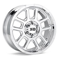 KMC XD Series XD828 Chrome Plated Wheels