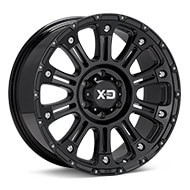 KMC XD Series XD829 Gloss Black Painted Wheels
