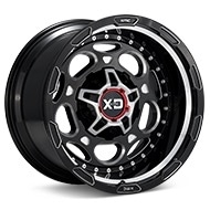 KMC XD Series XD837 Demodog Black w/Milled Accent Wheels